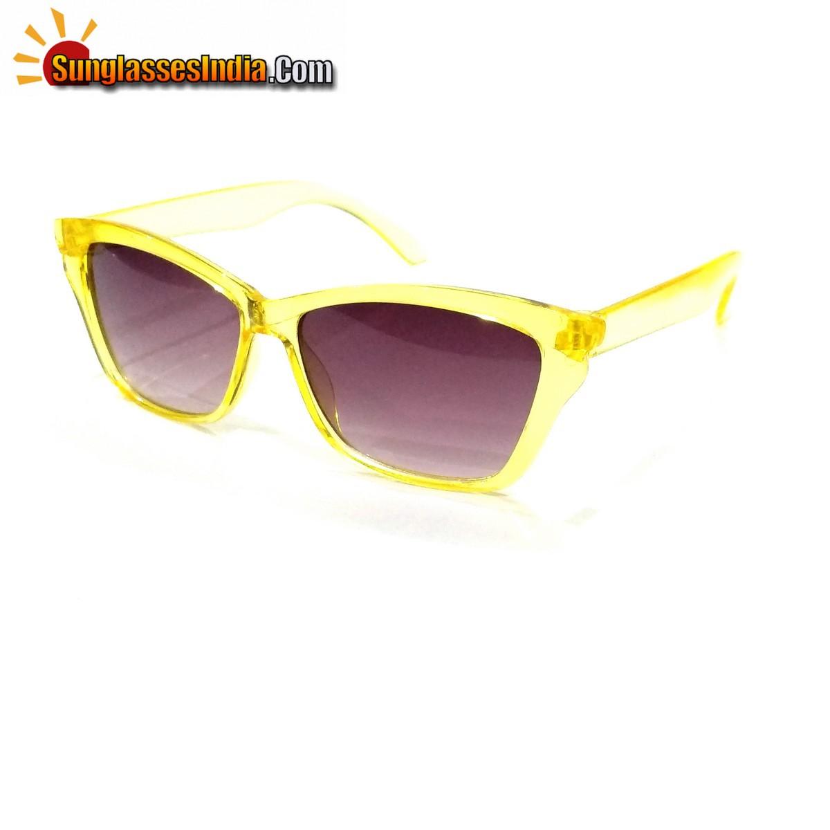 Yellow Kids Fashion Sunglasses TKS003Yellow