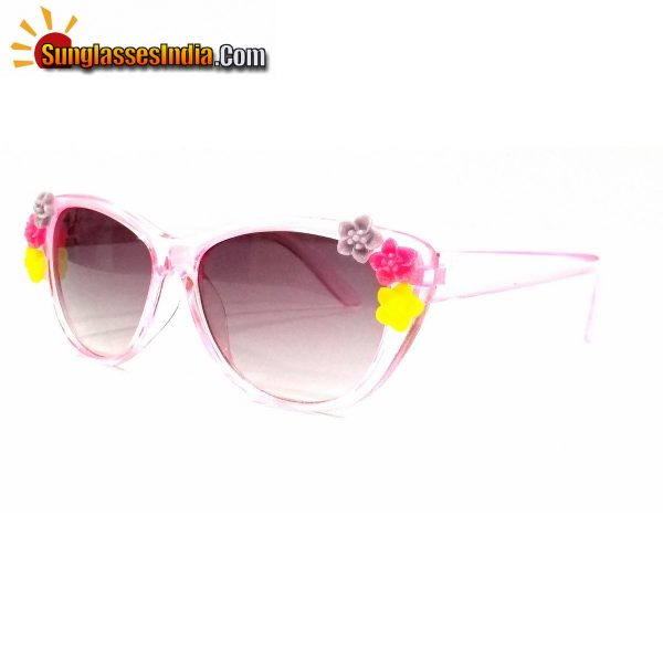 Pink Kids Fashion Sunglasses TKS004Pink