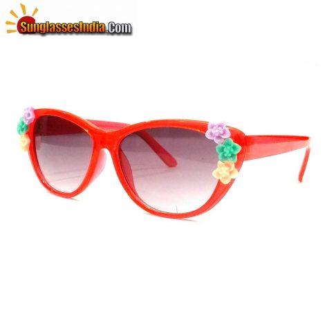 Red Kids Fashion Sunglasses TKS004Red
