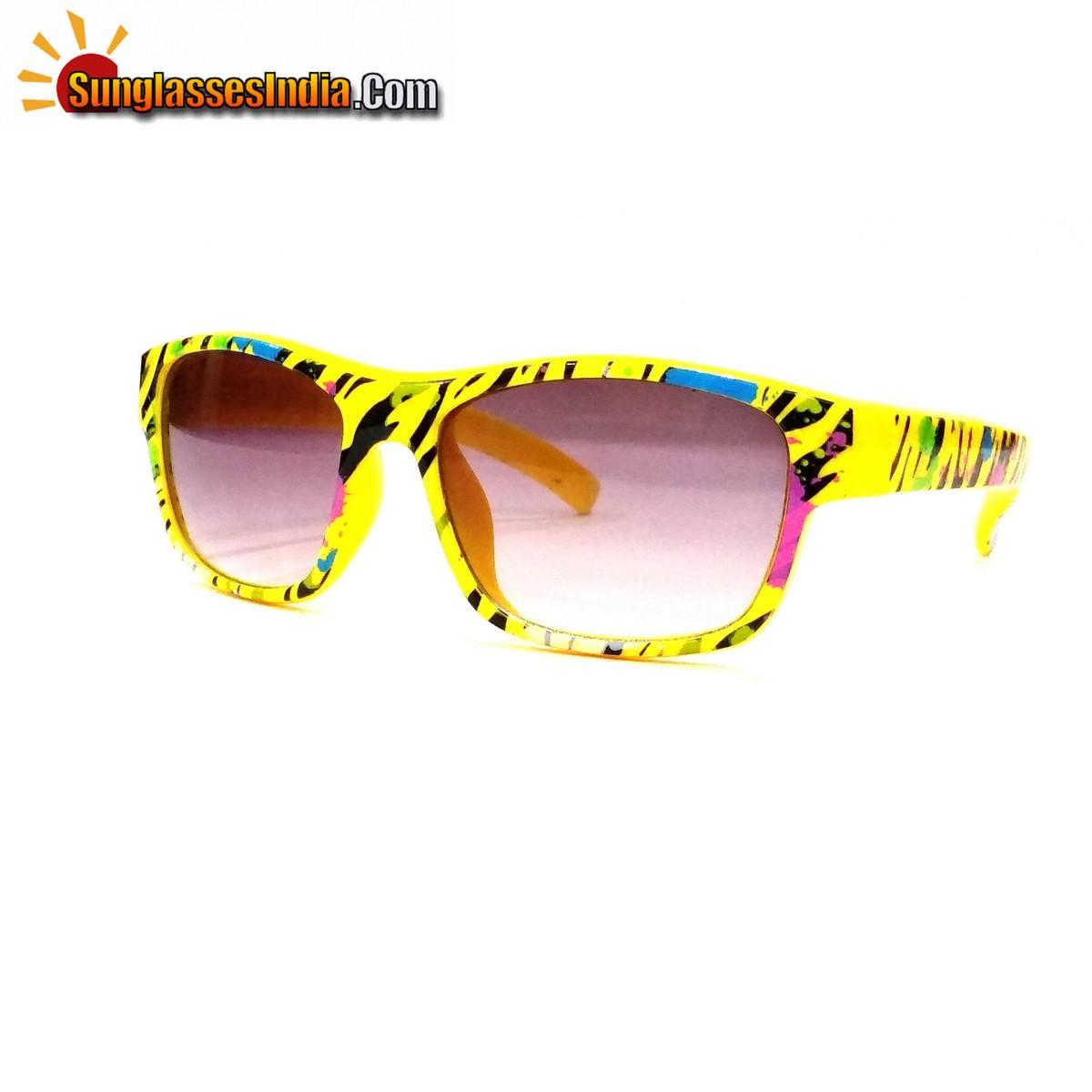Kids Fashion Sunglasses TKS005Yellow