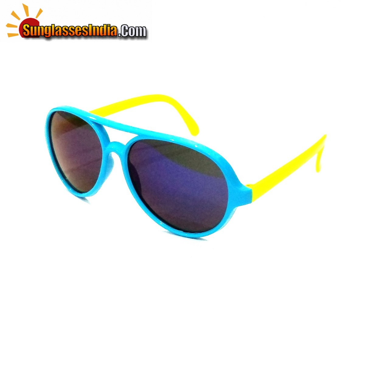 Kids Fashion Sunglasses TKS006BlueYellow