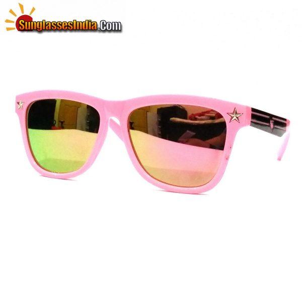 Pink Mirror Kids Fashion Sunglasses TKS007Pink