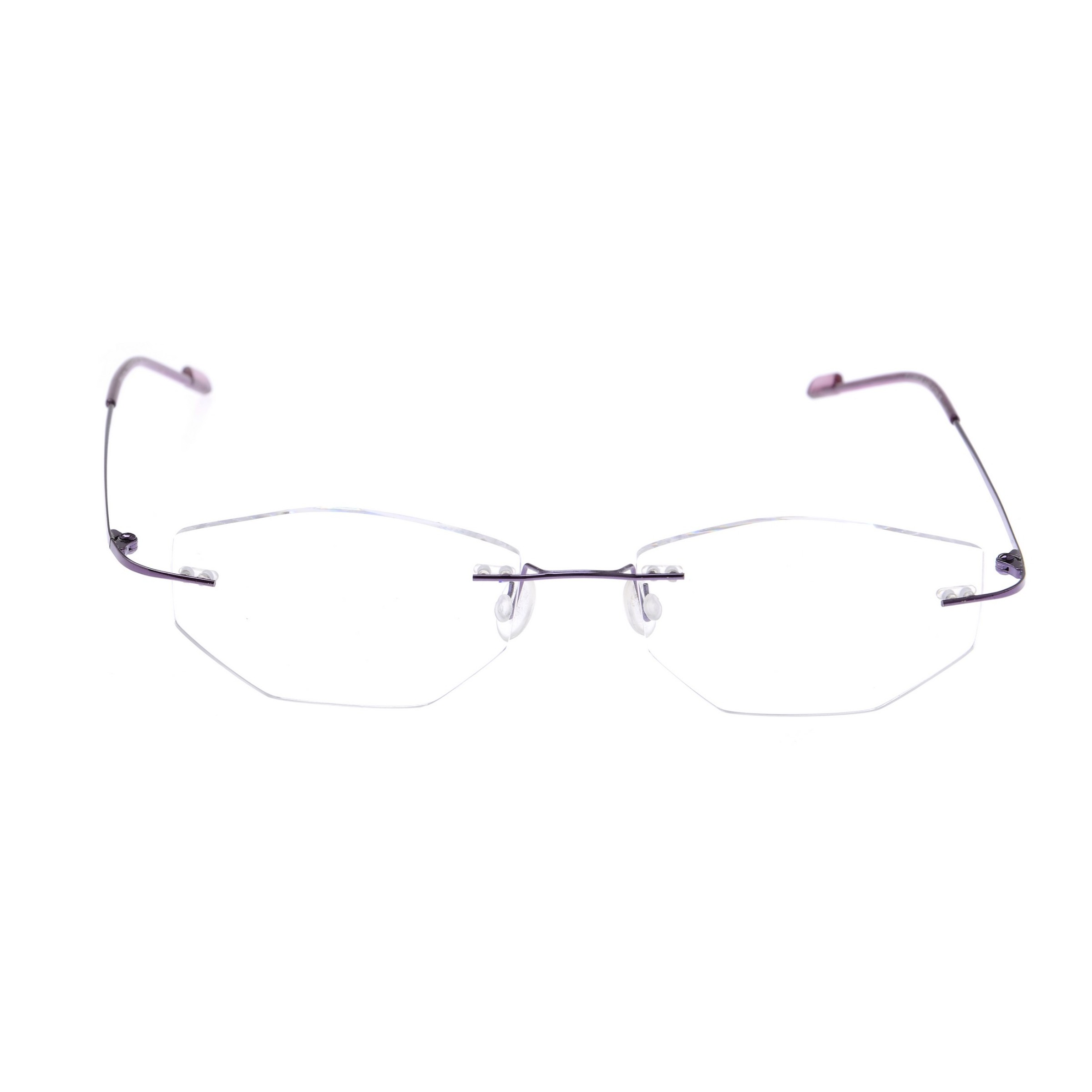 Crystal Weightless Purple Designer Rimless Computer Glasses A602PR