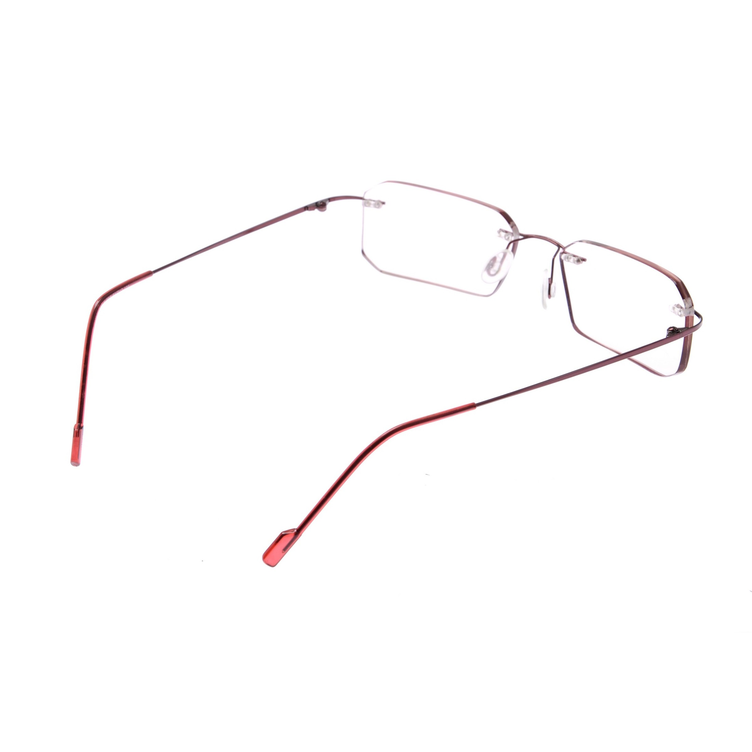 Crystal Weightless Red Designer Rimless Computer Glasses A602wnrd