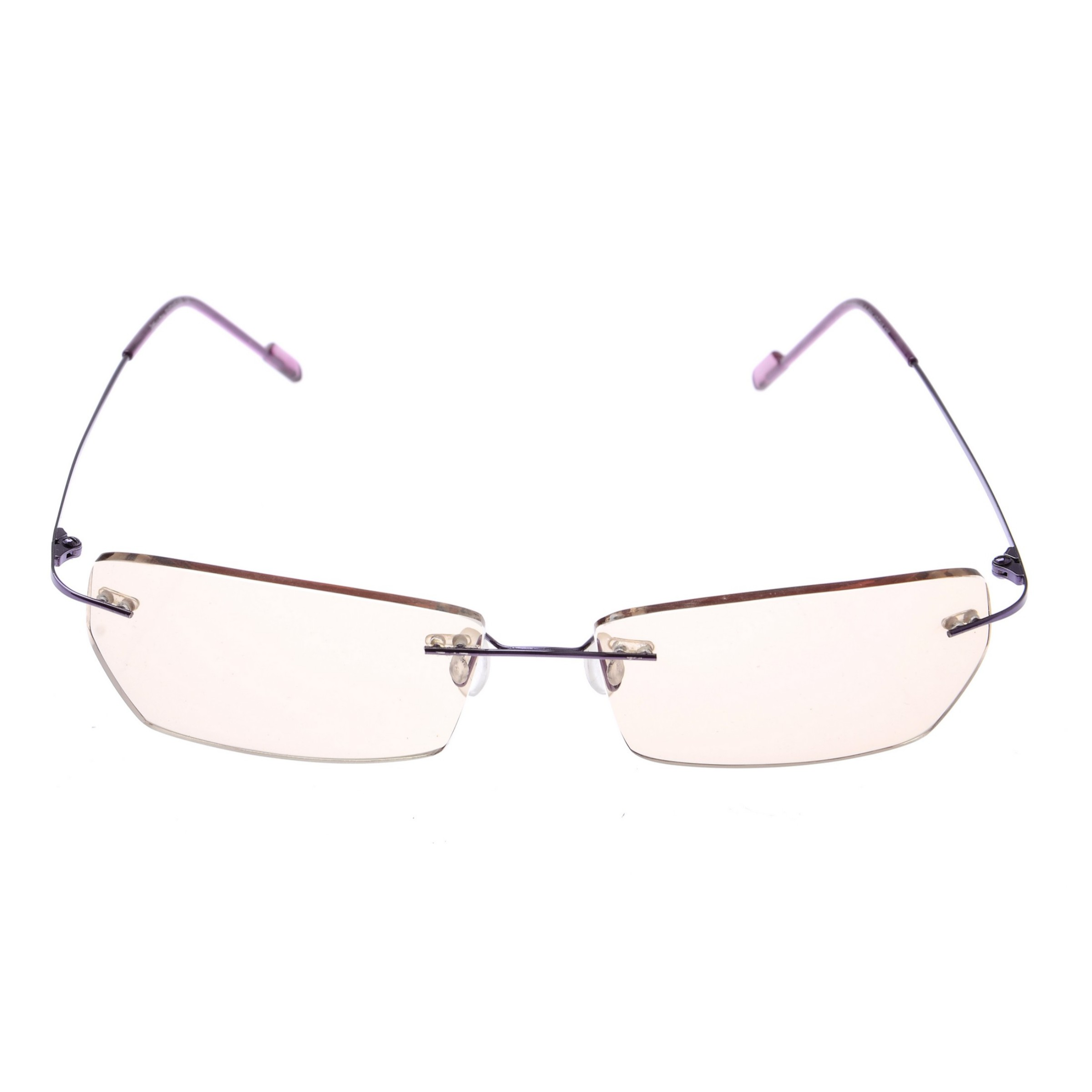 Crystal Weightless Purple Designer Rimless Computer Glasses A604prgl