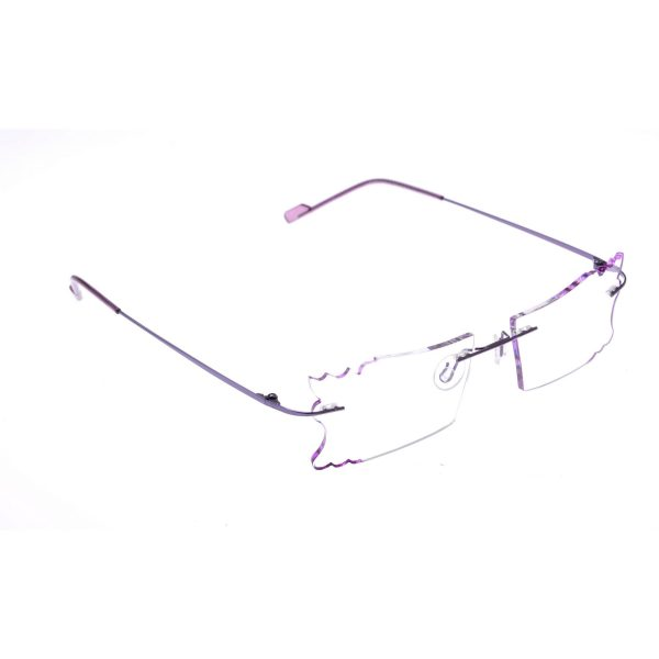 Crystal Weightless Designer Rimless Computer Glasses A605pr butterfly