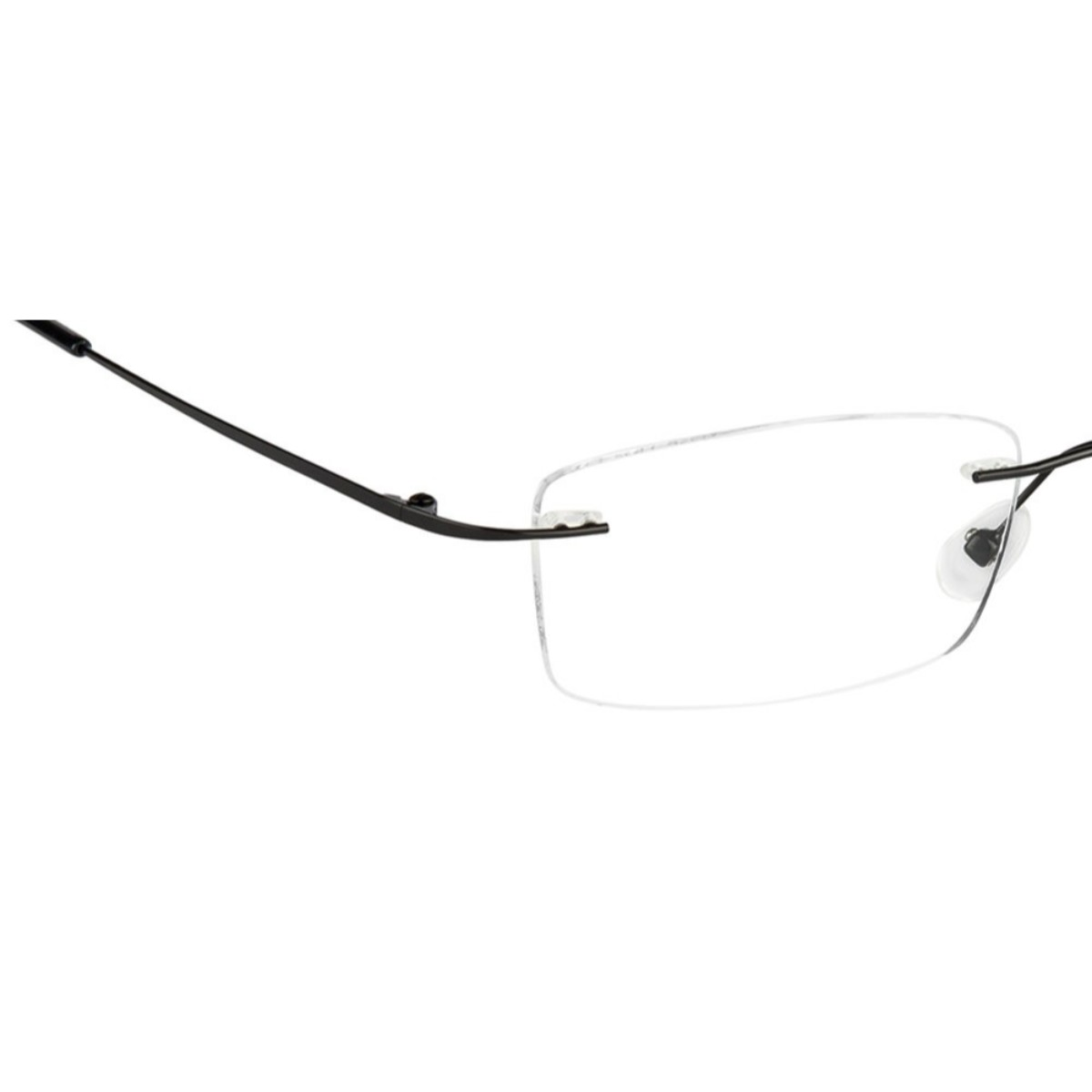 Black Rimless Computer Glasses with Anti Glare Coating