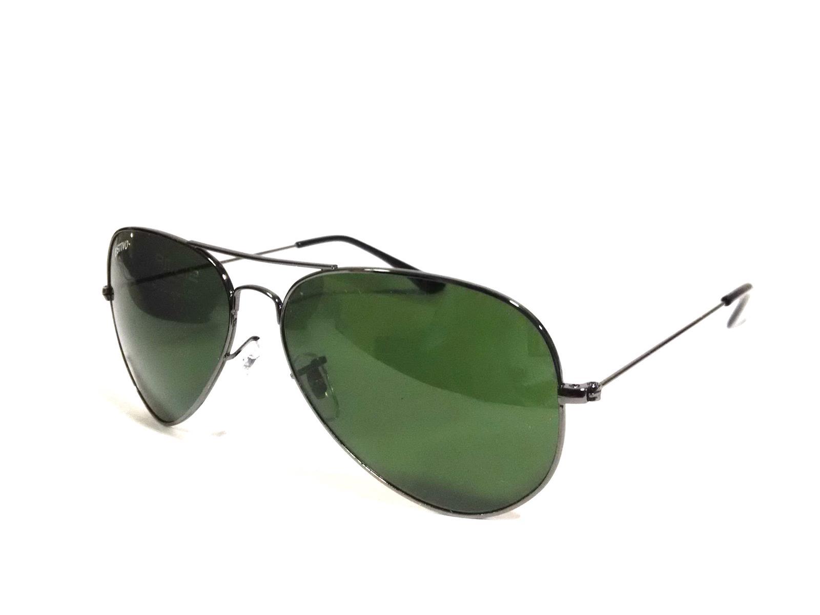 Gunmetal Aviator Sunglasses for Men and Women es25gm