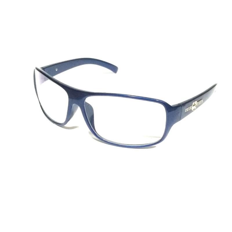 Blue Clear Driving Sunglasses with Anti Glare Coating Lenses