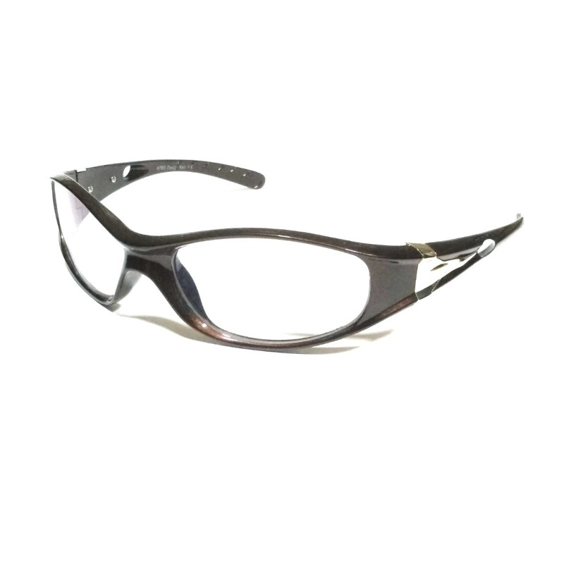 Brown Clear Driving Sunglasses with anti glare coating lenses