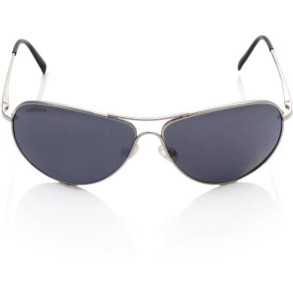 Silver Blue Aviator Unisex Sunglasses