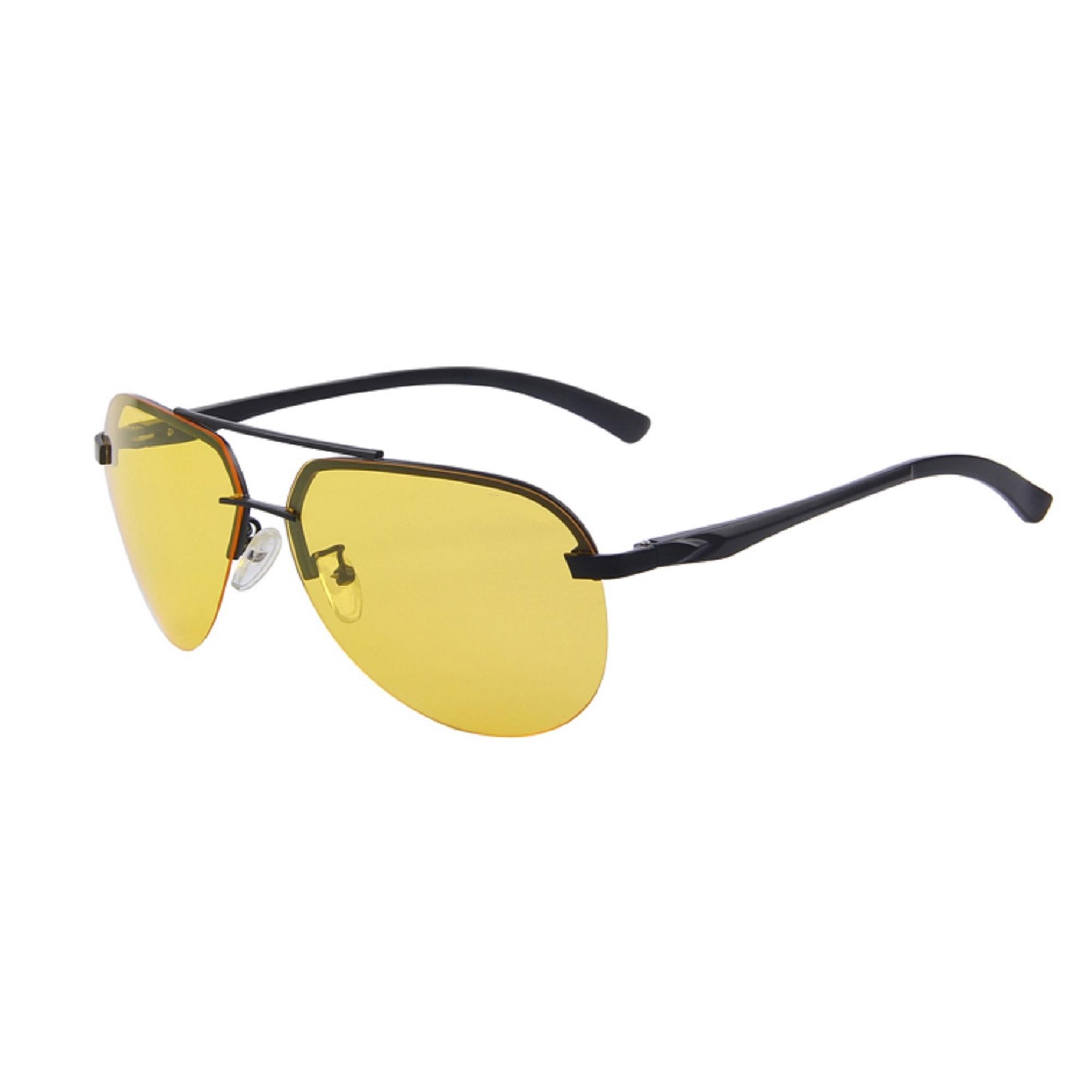 HD Vision Night Driving Polarized Aviator Sunglasses