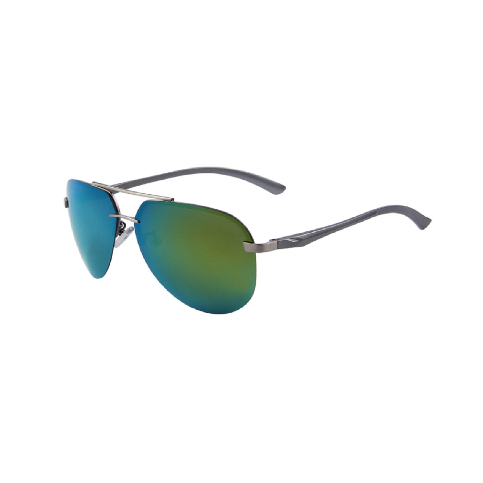 Premium Gold Mirror Polarized Aviator Sunglasses