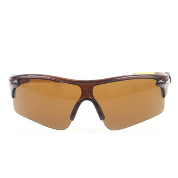 Sigma Brown Sports Wrap around Sunglasses