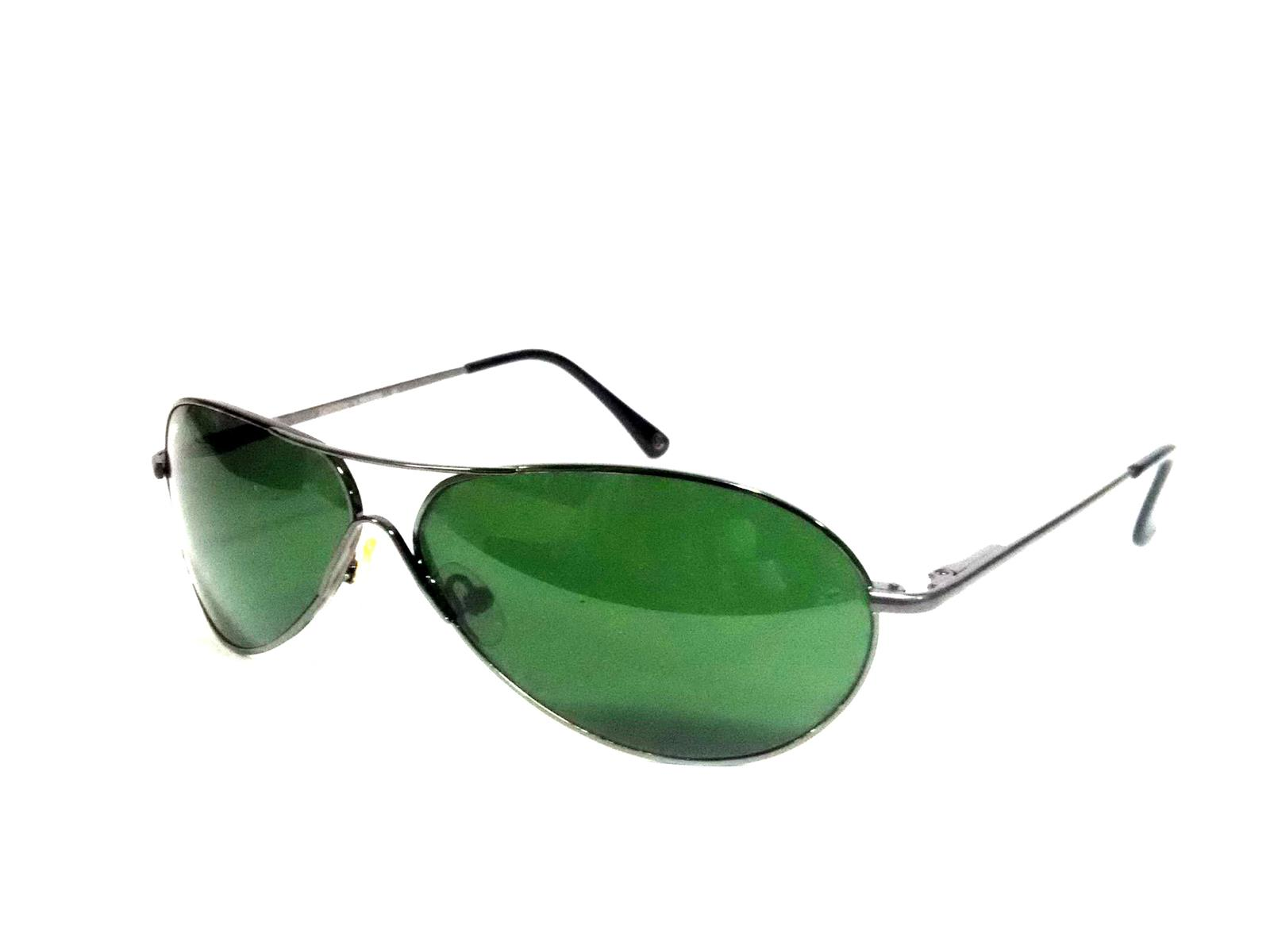 Sigma Grey Oval Sunglasses with Glass Lens