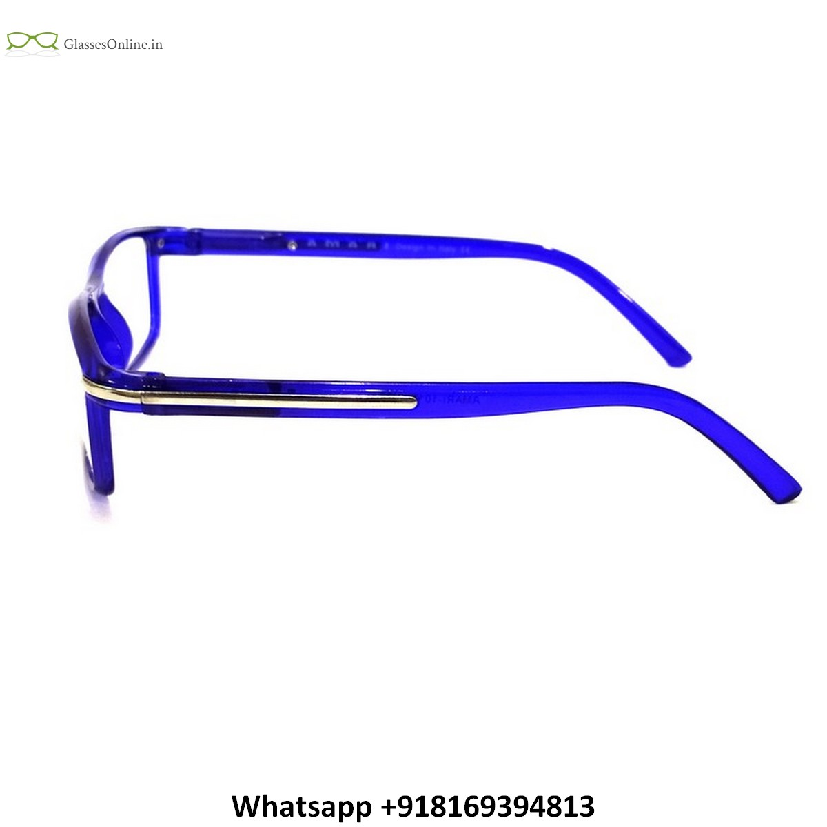 Plastic Full Frame Reading Glasses with Side Pin