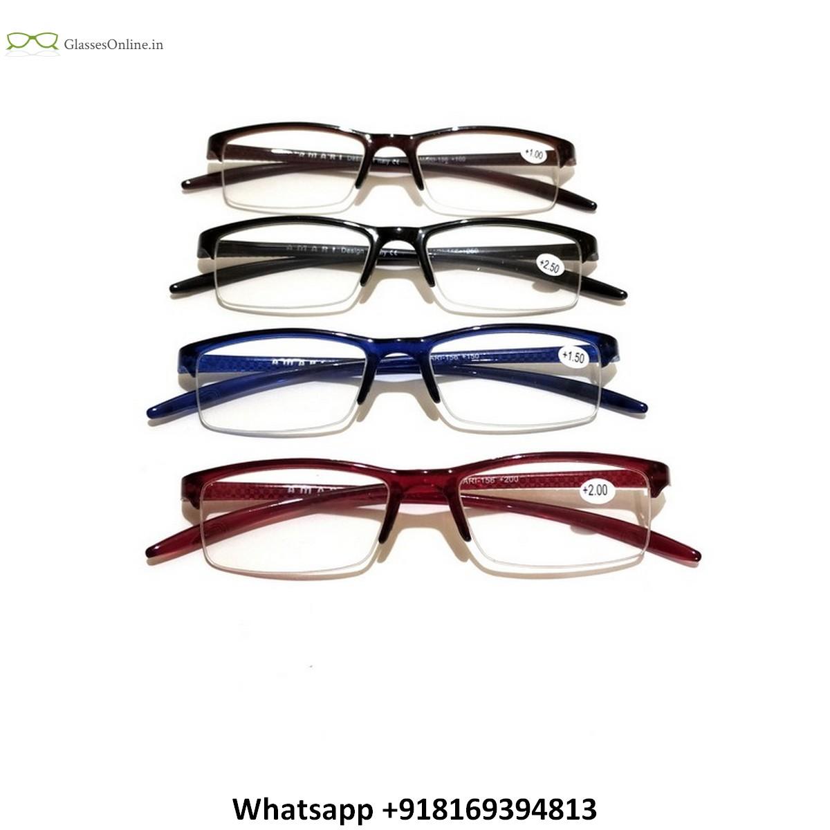 Supra Half Rim Reading Glasses