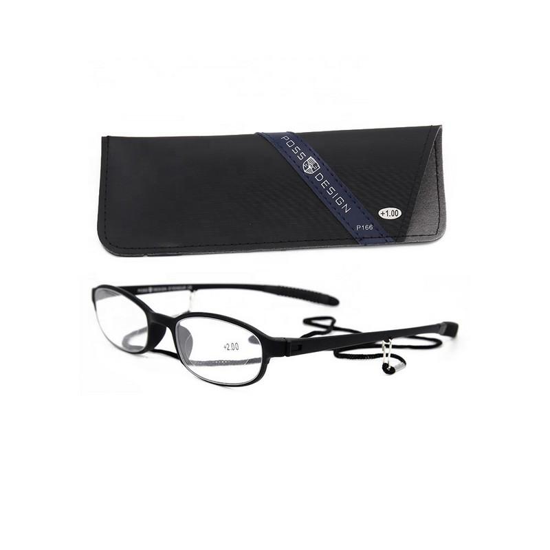Premium Reading Glasses Frame Light Weight Plastic TR90 Material