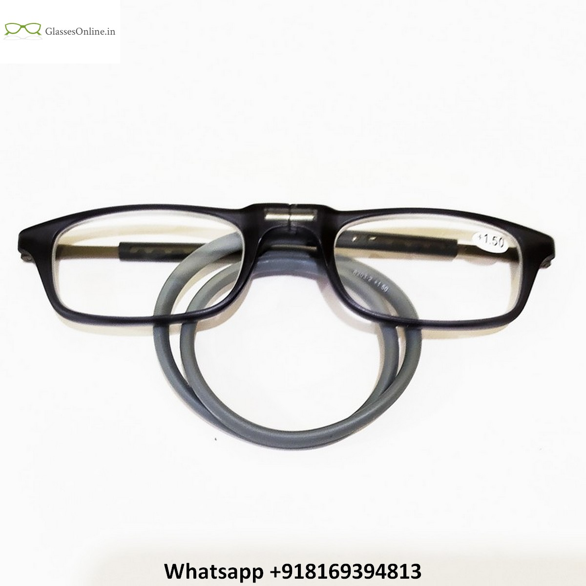 Rectangle Neck Hanging Magnetic Reading Glasses