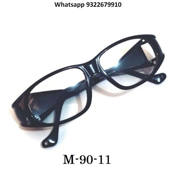 Black Prescription Safety Glasses