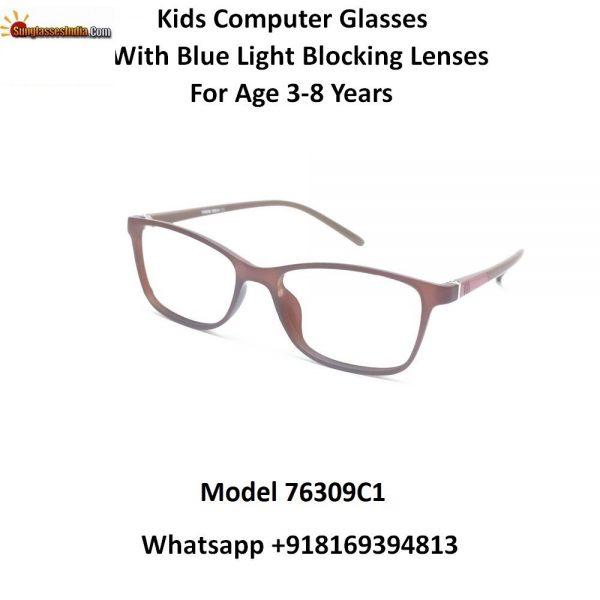 Kids Computer Glasses with Blue Light Blocker Lenses 76309C1