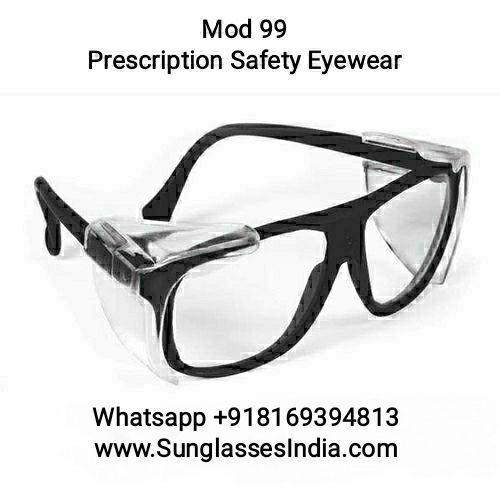 UV Protective Economy Prescription Safety Glasses Eyewear