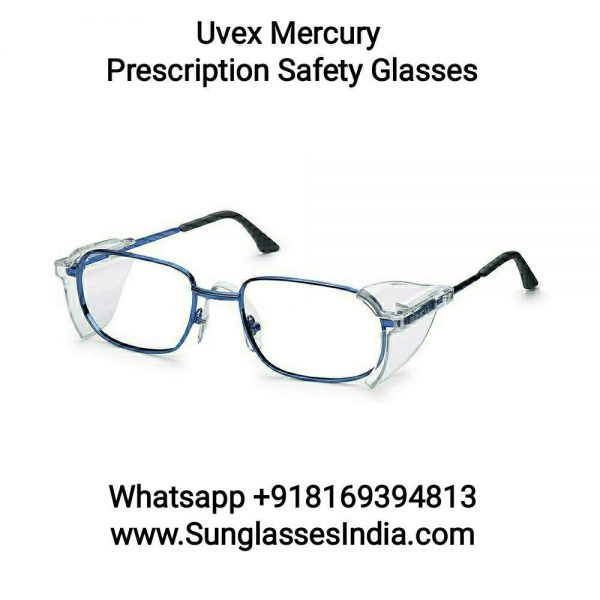 Uvex Prescription Safety Glasses Spectacles 6109112 Mercury