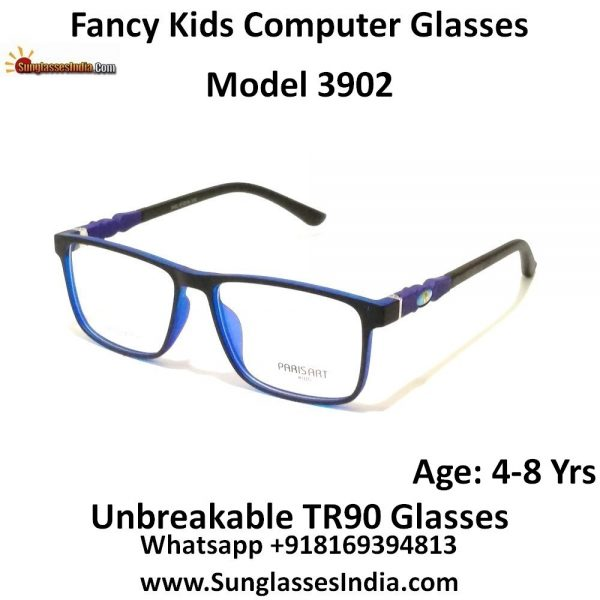 Kids Computer Glasses with Blue Light Blocker Lenses 3902C7