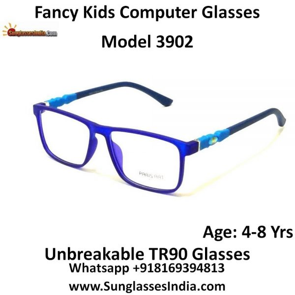 Kids Computer Glasses with Blue Light Blocker Lenses 3902C8