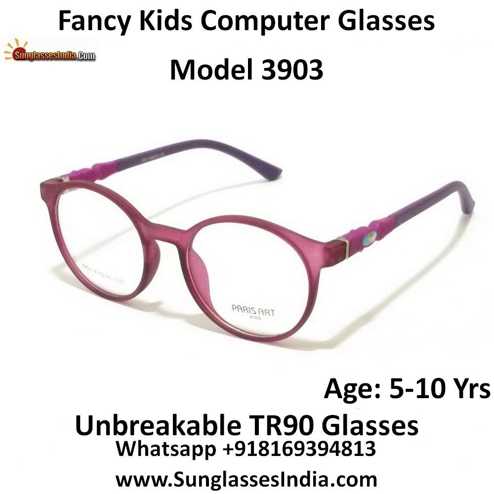Kids Computer Glasses with Blue Light Blocker Lenses 3903C6