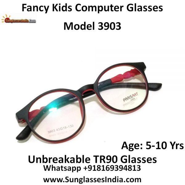 Kids Computer Glasses with Blue Light Blocker Lenses 3903C9