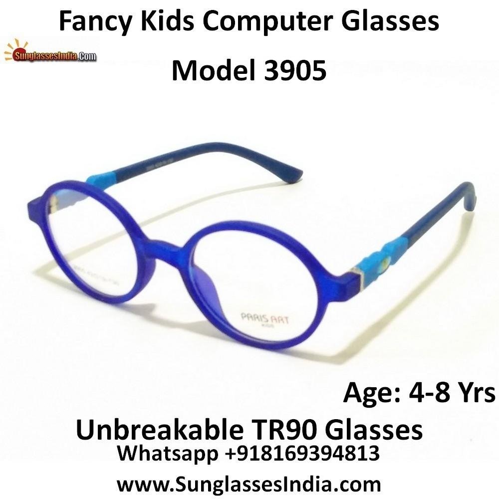 Kids Computer Glasses with Blue Light Blocker Lenses 3905C8