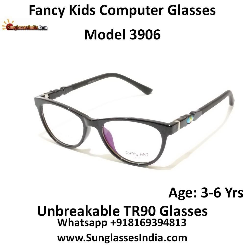 Kids Computer Glasses with Blue Light Blocker Lenses 3906C3