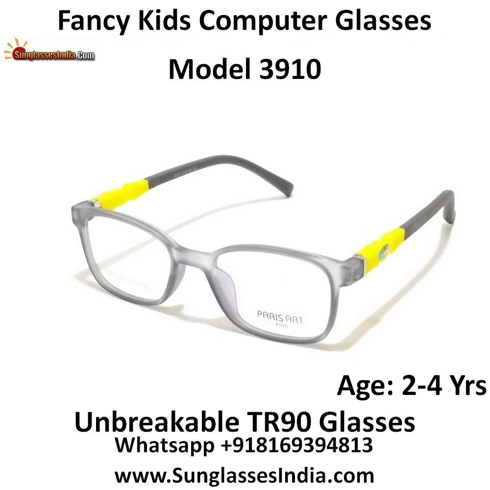Kids Computer Glasses with Blue Light Blocker Lenses 3910C2