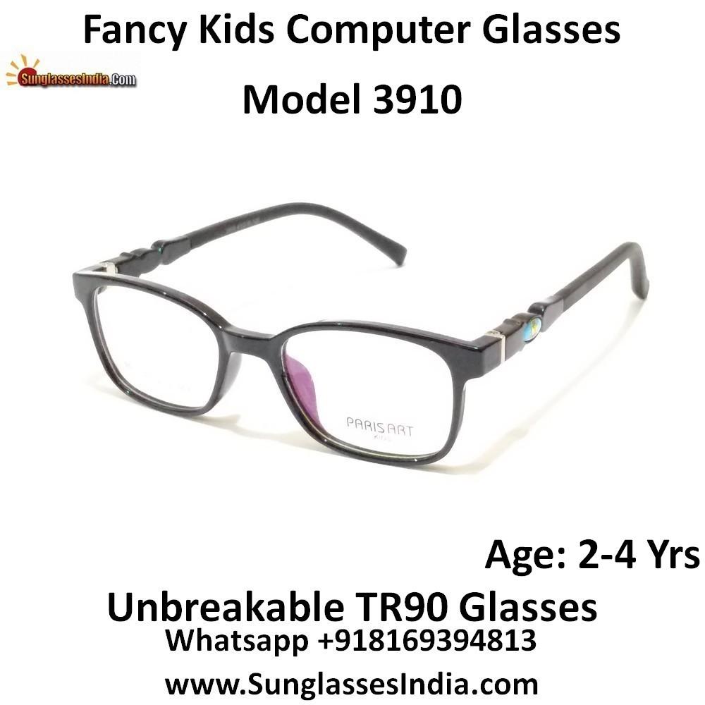 Kids Computer Glasses with Blue Light Blocker Lenses 3910C3