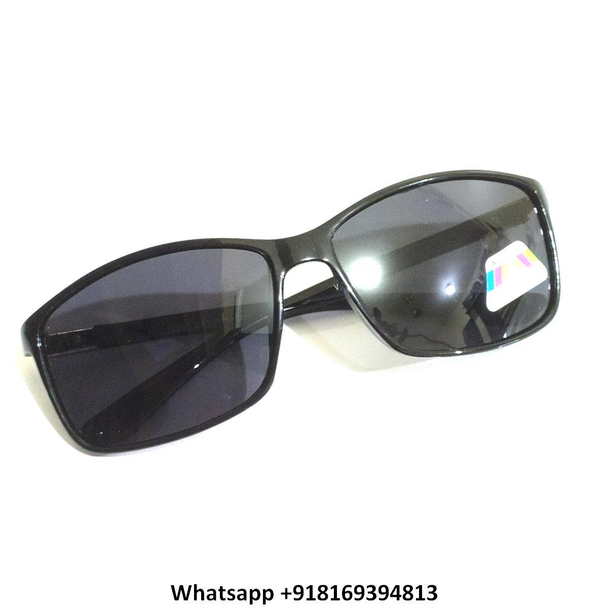 Wraparound Sports Polarized Sunglasses for Men and Women 10066SBK