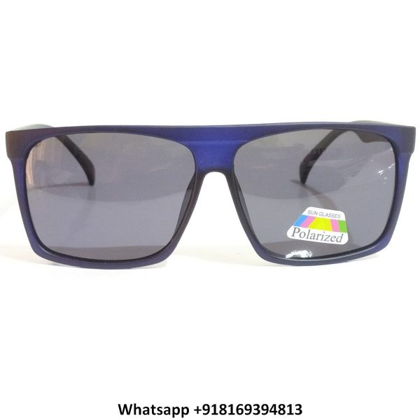 Trendy Square Polarized Sunglasses for Men and Women 2156BL