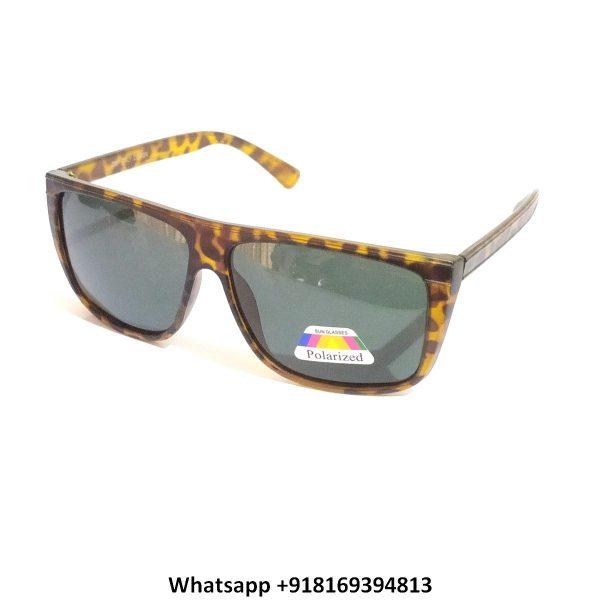 Trendy Square Polarized Sunglasses for Men and Women 2897DA